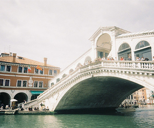 bridge, city, and italy image