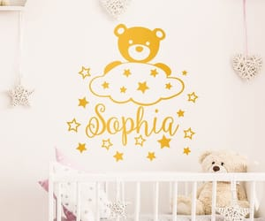 etsy, wall decal, and nursery decor image