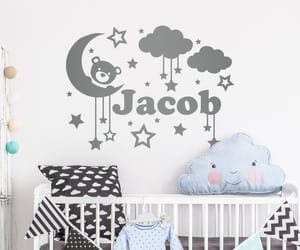 etsy, teddy bear, and wall decal image