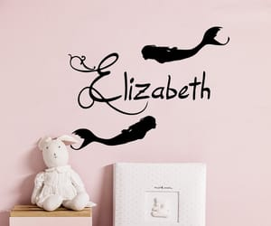 etsy, girl name, and vinyl sticker image
