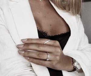 blazer, fashion, and silver image
