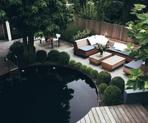 home, outdoor, and pool image