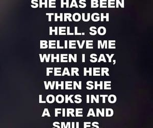 quotes, hell, and fire image