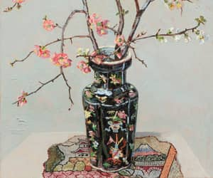 still life, lucy culliton, and japonica image