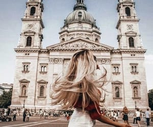 accessories, architecture, and blonde image