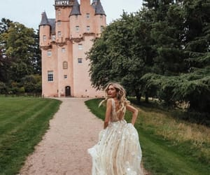 princess, bride, and castle image