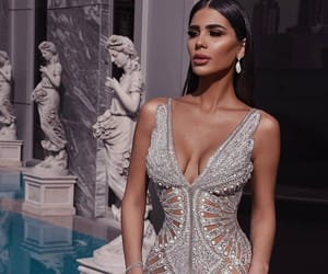 arabia, Couture, and dress image