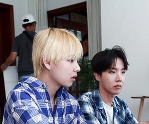 army, jin, and jhope image