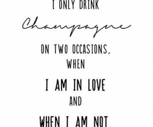 champagne, coco chanel, and drinking image