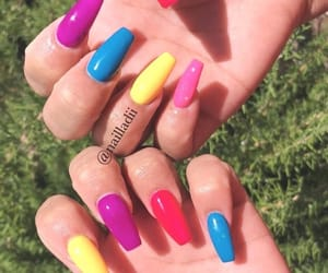 acrylic, pretty, and brights image
