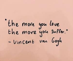 suffer, van gogh, and love image