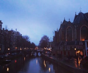 amsterdam, beautiful, and night image