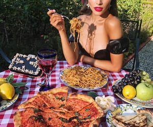 fashion, food, and pizza image