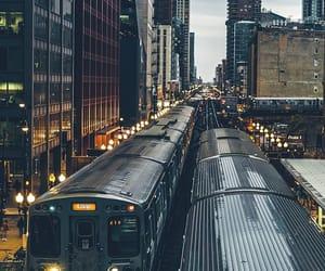 street, subway, and train image