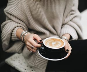 aesthetic, bracelet, and coffee image