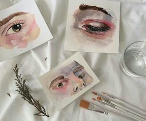 art, aesthetic, and eyes image