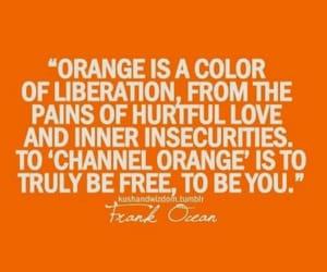 happy, orange, and positive image