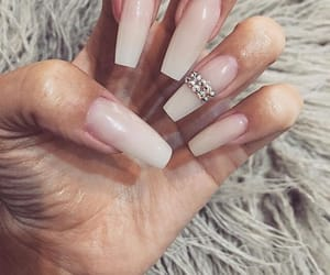 acrylics, girly inspiration, and nails goals image