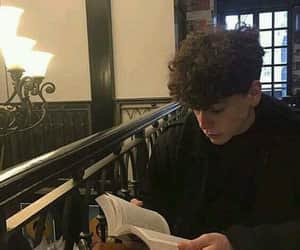 boy, book, and aesthetic image