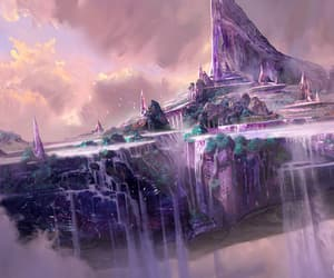 beautiful, fantasy, and violet image
