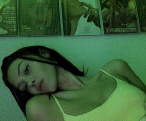 girl, green, and sahar luna image