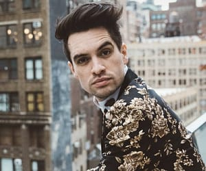 brendon urie, lgbtq, and panic at the disco image