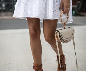 blogger, chloe bag, and chloe boots image