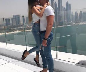 love, fashion, and couple image