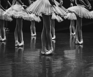 ballet, black and white, and aesthetic image