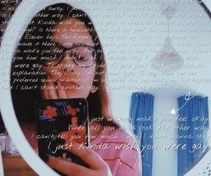 Lyrics, song, and billie eilish image