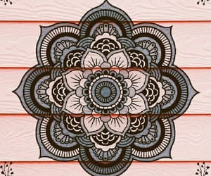 girls, wallpaper, and mandala image