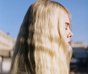 girl, blonde, and Elle Fanning image