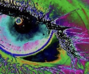 colorful, colors, and eye image