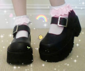 babie, shoes, and black image