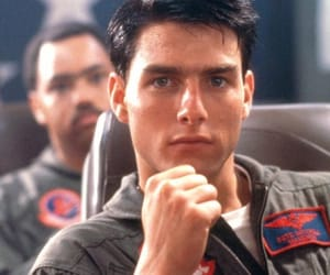 Tom Cruise, top gun, and 80s image