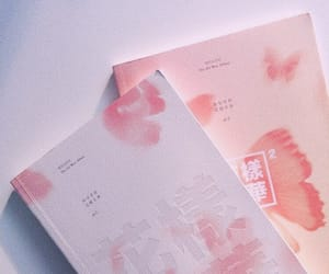 bts, aesthetic, and pink image