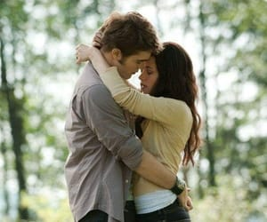 bella swan, guy, and kissing image