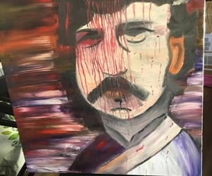 abstract, Oil Painting, and potrait image