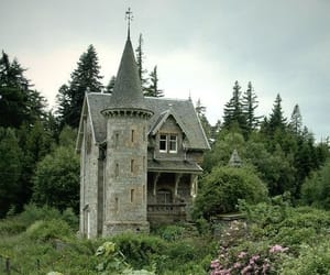 castle, nature, and house image