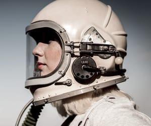 aesthetic, astronaut, and girl image