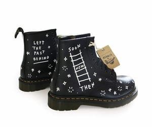 shoes, words, and drmartens image