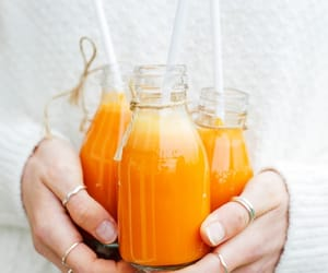 drink, orange, and juice image