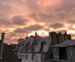 paris, sky, and france image