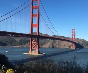 california, golden gate bridge, and san francisco image