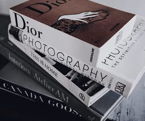 aesthetic, books, and dior image