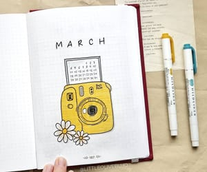 art, planner, and bujo image