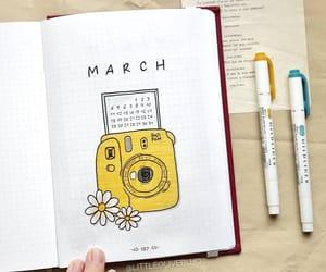 art, yellow, and bujo image