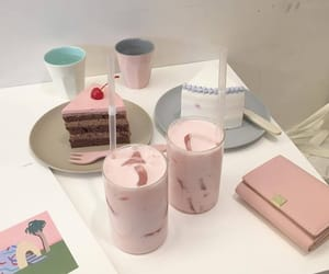 aesthetic, cake, and cafe image