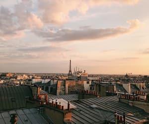 paris, roofs, and tour eiffel image