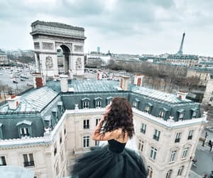 arc de triomphe, fashion, and outfit image